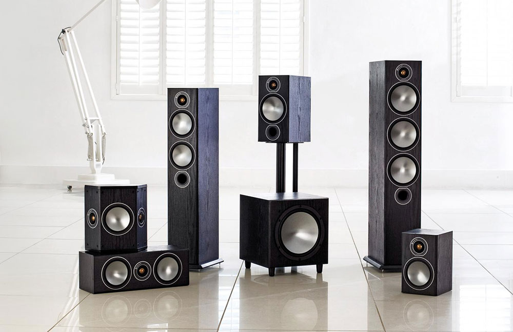 Monitor Audio Bronze Speakers