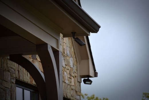 Camera on Eave