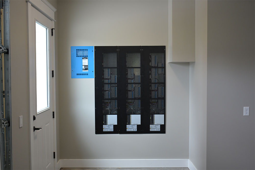 Lutron Centralized Lighting Panel