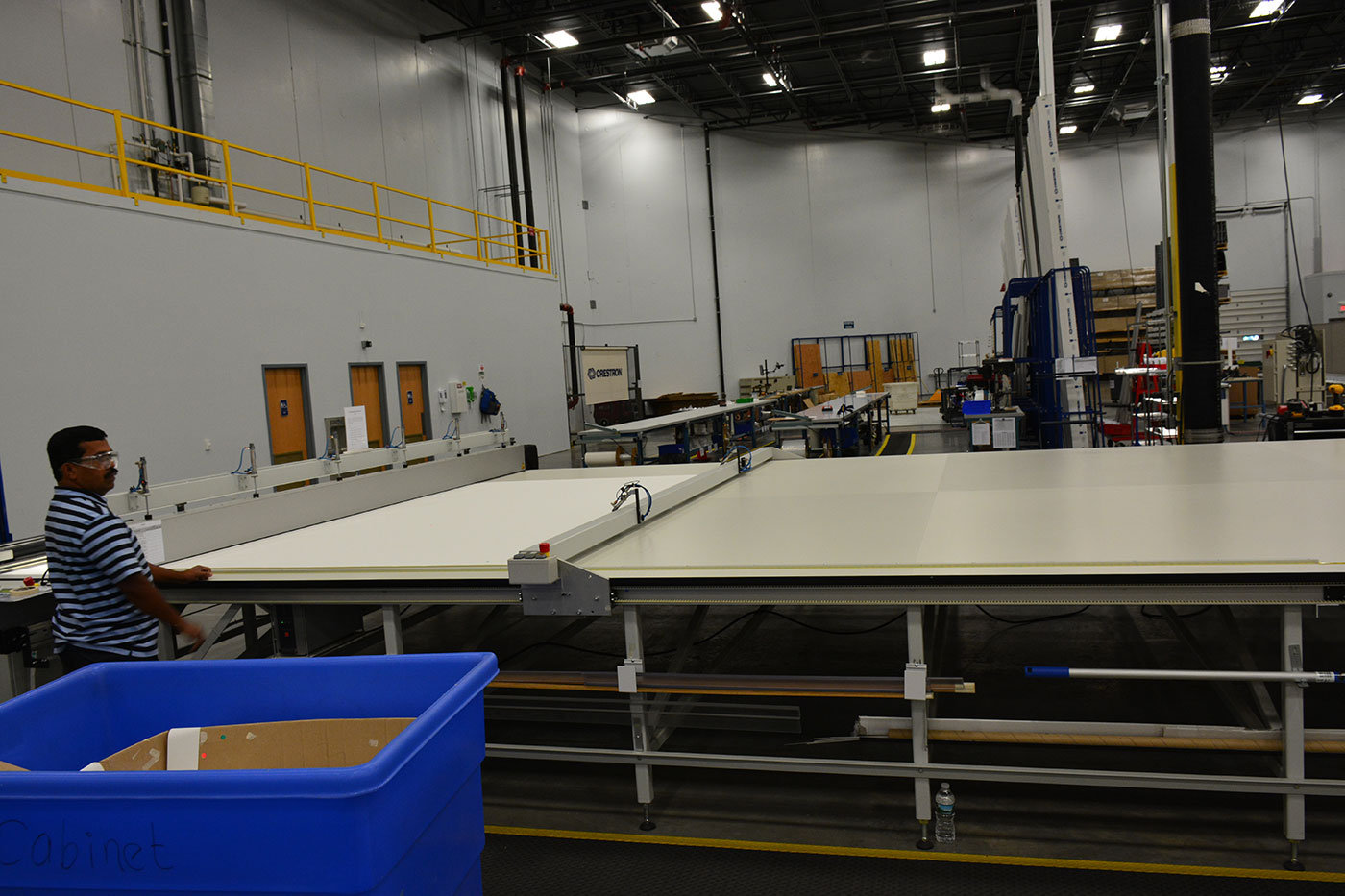 Crestron Shade Cutting Table