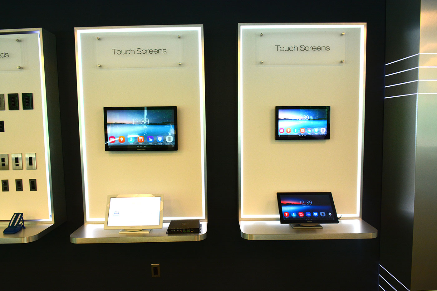 Crestron Large Touch Screens