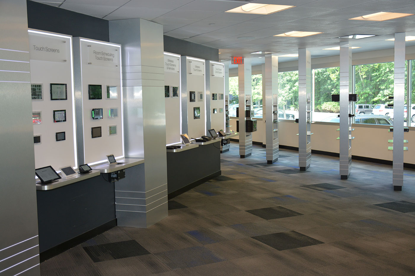 Touch Screen Display Walls