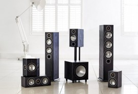 Monitor Bronze Speakers for Home Theater
