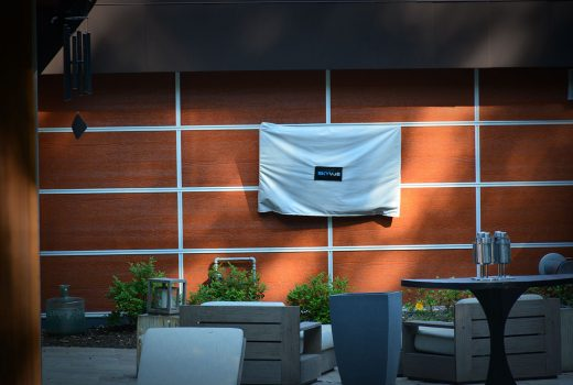 Covered Outdoor TV